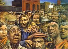 'Manifestación' de don Antonio Berni.Un retrato de nuestra marginalidad