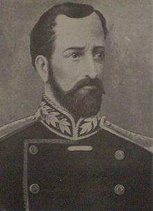 Teniente Coronel don José Ignacio Warnes y García de Zúñiga,fotografía extraída del libro 'Historia Argentina'de Diego Abad de Santillán