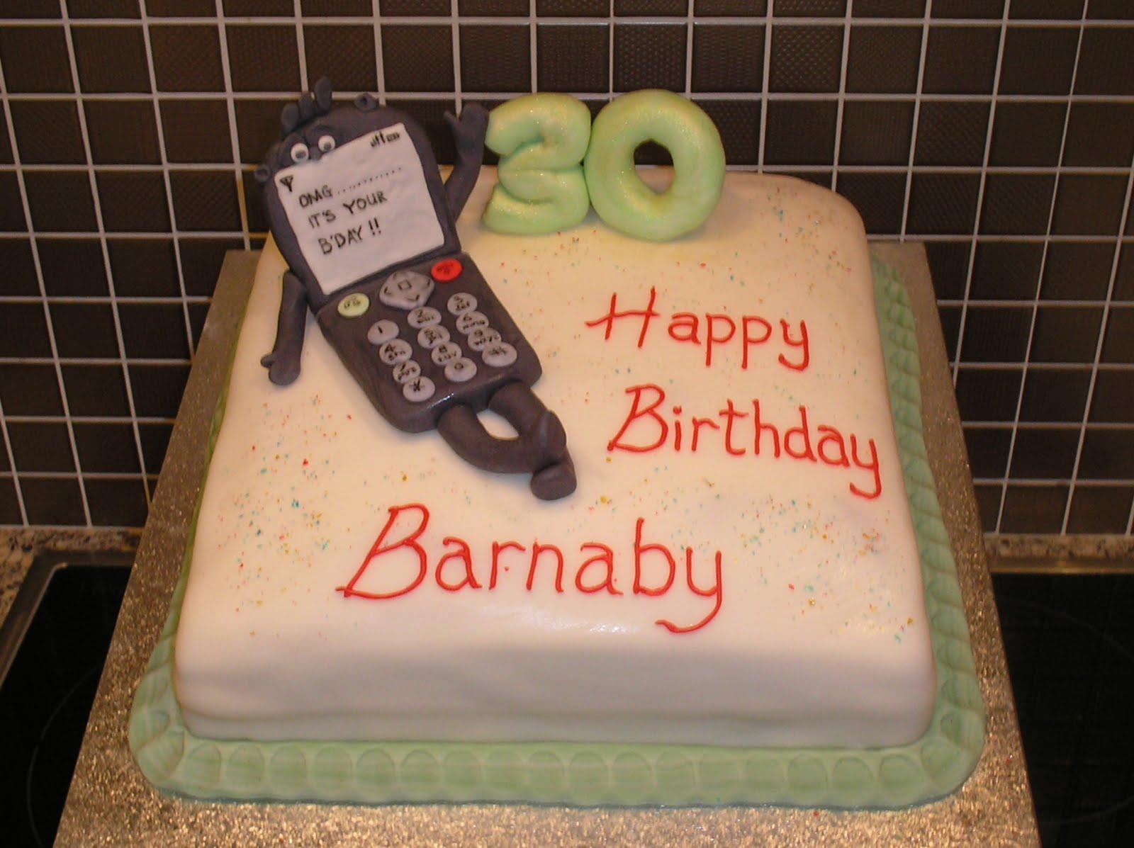 Nickys Cakes Mobile Phone Cake