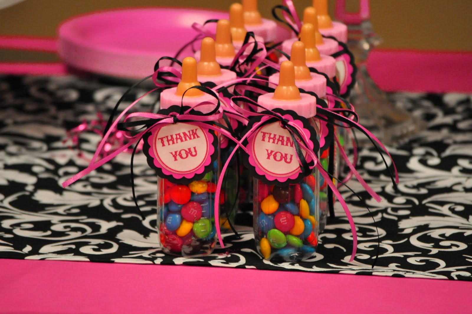 Pink animal print baby shower - photo#15