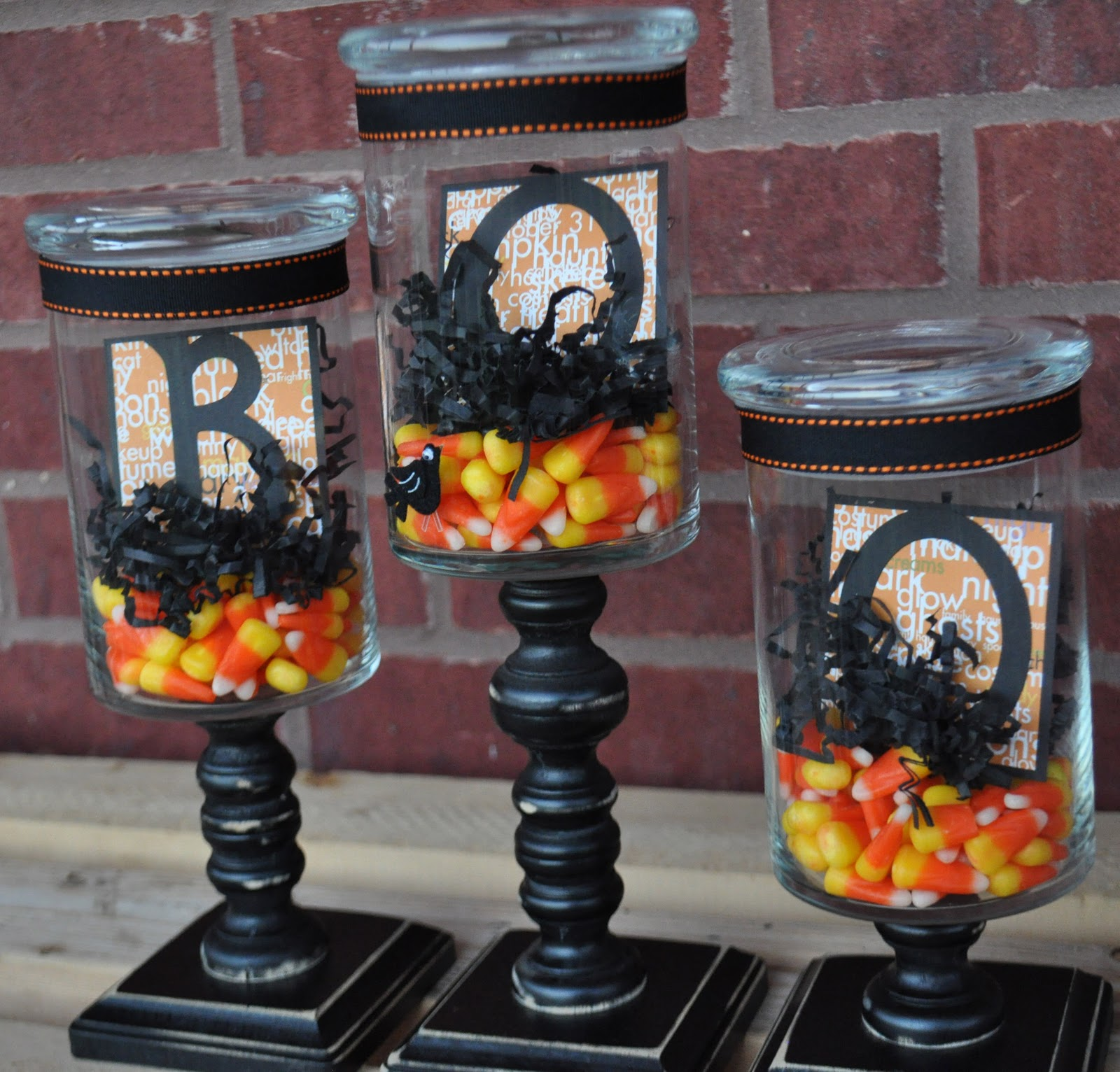 The autocrat halloween apothecary jars