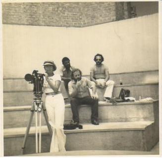 SET DE FILMAGEM DOS CURTA-METRAGEM VENDIDOS PARA T.V. GLOBO