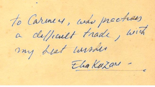 Elia Kazan, fundador do Actors Studio.