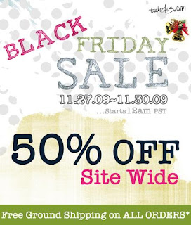 Tulle Black Friday sale