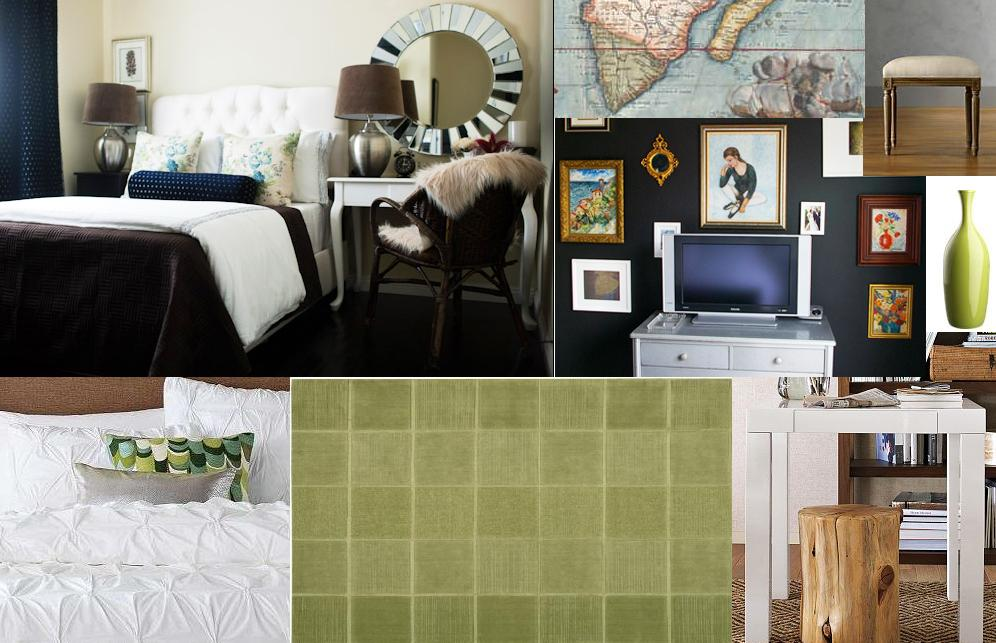 Chasing Davies Guest Bedroom Mood Boards Wanted Navy Walls