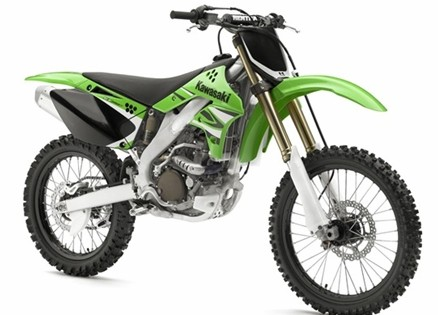 kawasaki kx 250f motocross dirt bike 2008