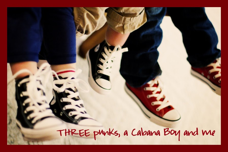 Three Punks, a Cabana Boy and Me