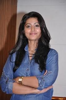 Actress Sneha in Denim Shirt Photo