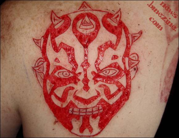 Thriller Scarification Tattoos Gallery | Amazing Images