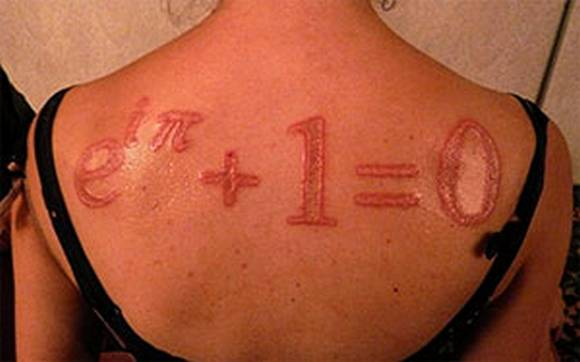 scarification tattoo. Maths Scarification Tattoos