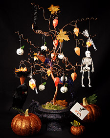 Halloween Wire Tree