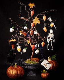 Halloween Wire Tree
