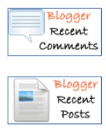Cara Menambahkan Recent Posts + Comment Dengan Javascript