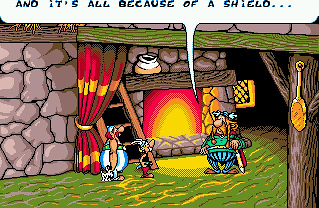 Well pixelled cartoony cutscenes I'm beginning to think I won't get