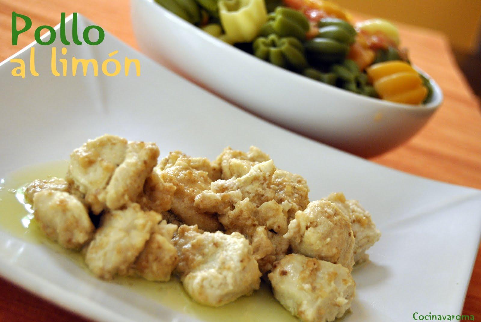 Cocina varoma pollo al lim n diferente riqu simo - Pechugas de pollo al limon ...