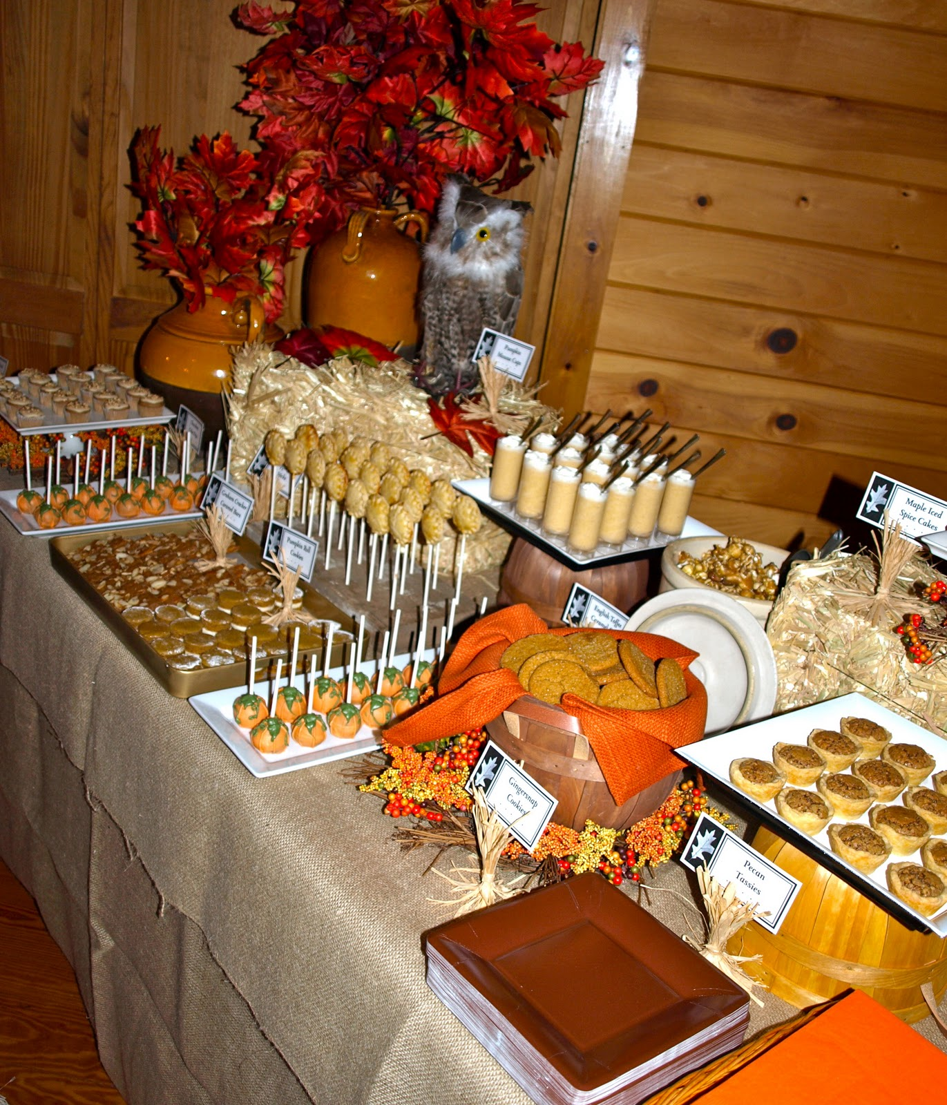 A Party Style Fall Festival Dessert Table