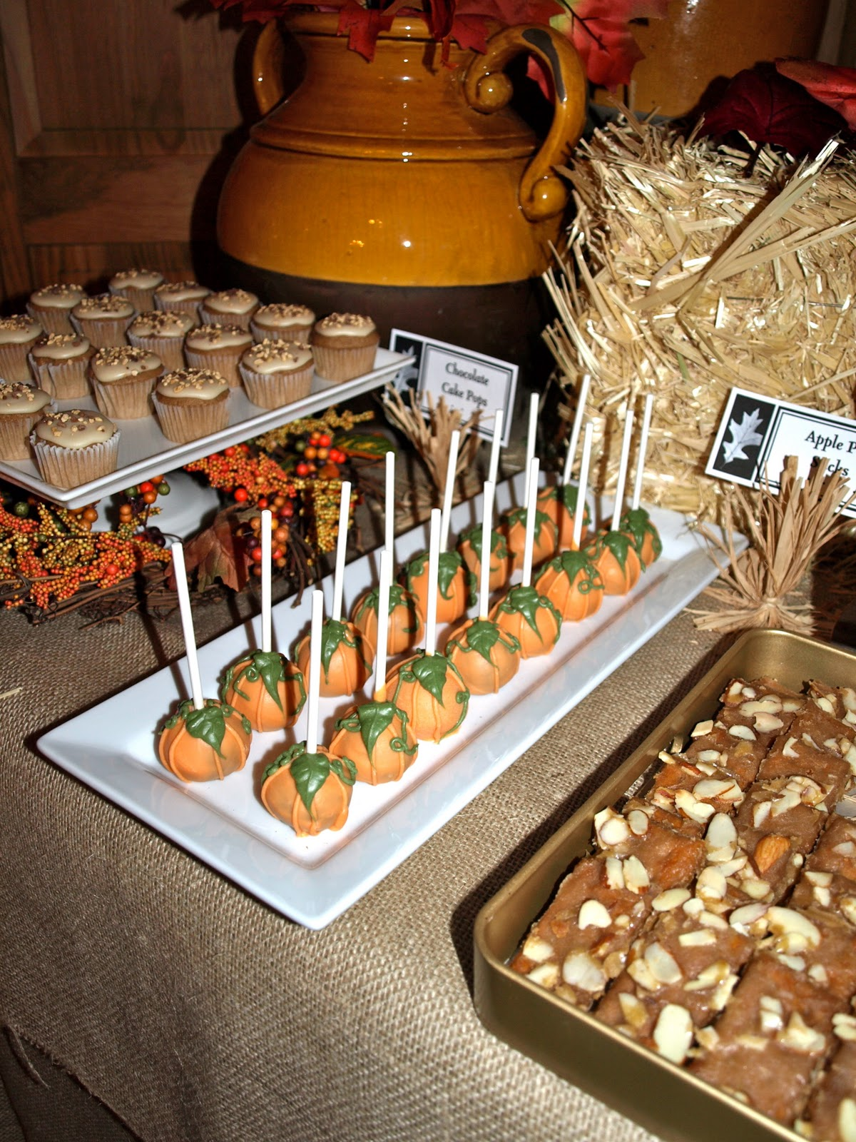 a. party style: fall festival dessert table
