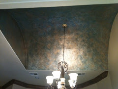 Ceiling Metal Patina Finish