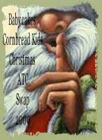 Cornbread Kids Christmas ATC Swap
