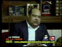 DOMINGO GUTIERREZ CRUZ: Un comunicador con credibilidad y sentimientos patrióticos.