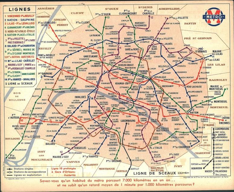 PZ C: paris metro