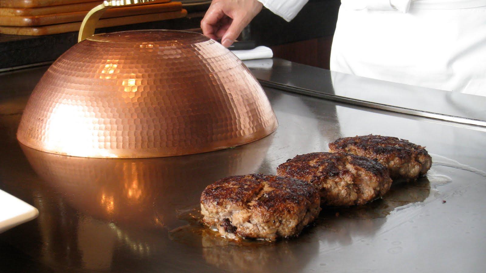 teppanyaki burger tonys meats. Black Bedroom Furniture Sets. Home Design Ideas