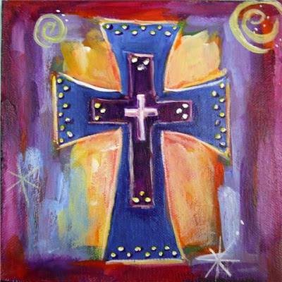 Nancy standlee fine art cross cbc blog for Cross paintings on canvas