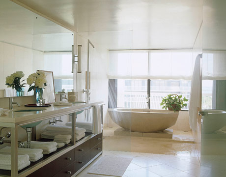 Interior and exterior design home buildings office for Beautiful houses interior bathrooms
