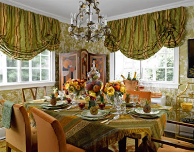 Dining Room Table on Dining Room Table Style Centerpiece Ideas