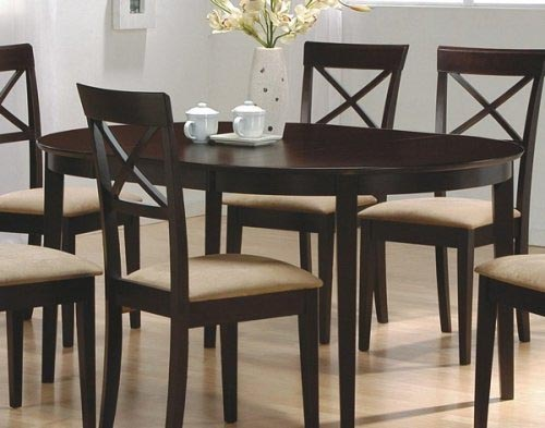 Dining room table wood furniture for Kitchen dining room chairs