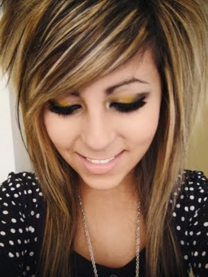 Blonde Scene Hair Color. Medium Length Hairstyles For