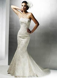 mermaid wedding dress - mermaid wedding dress pictures