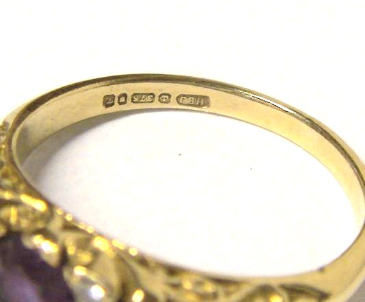 CHARLIEQUINS THINGS FOR SALE GOLD 9 Carot 375 Hallmarked Rings