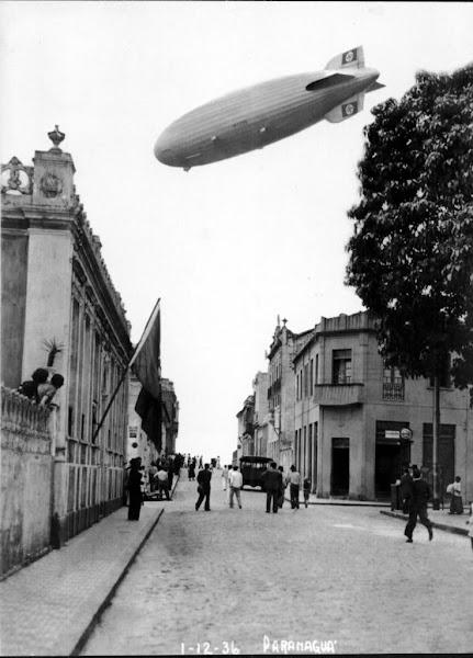 Zeppelin em Paranaguá