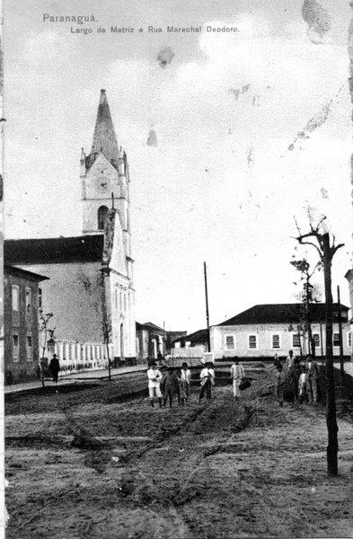 Frente igreja São Benedito