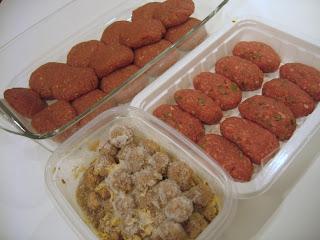 Dondurulmuş köftelerle 5 dakikalık yemekler – I