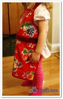 Proje 4 – Çocuklar için mutfak önlüğü