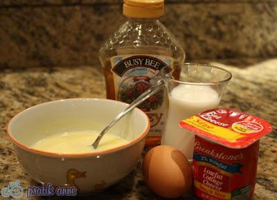 Çocuklar için kahvaltı – Sütlü yumurta