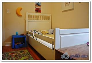 Bebek yatağından büyük yatağa geçme