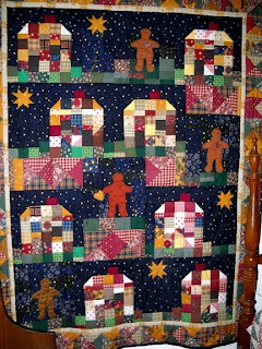applique gingerbreadman quilt patterns