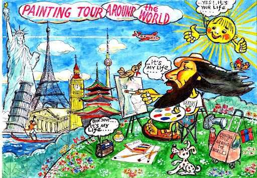 PAINTING TOUR AROUND THE WORLD
