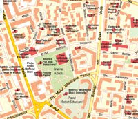 Harta Focşani - străzi, obiective