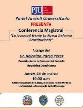 Conferencia Magistral: 25-03-2010