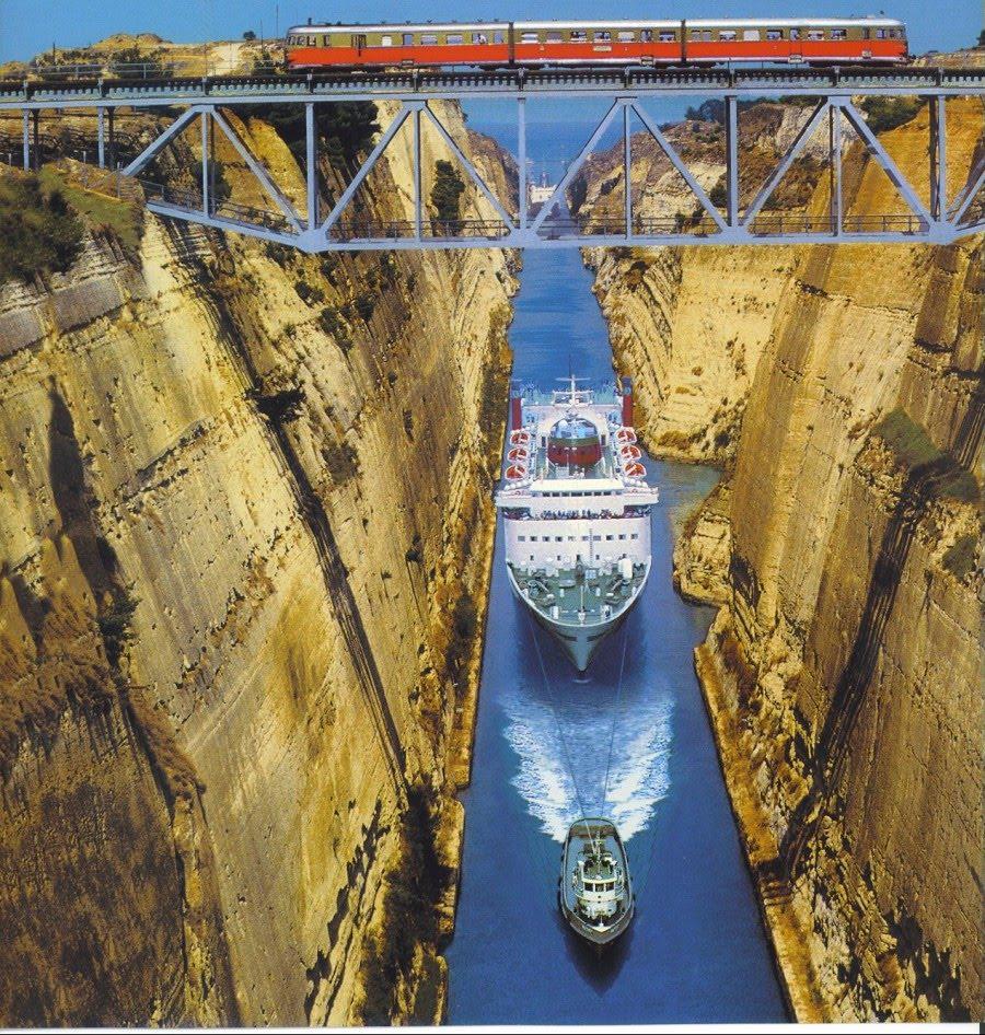Miscellaneous Pics: Corinth Canal