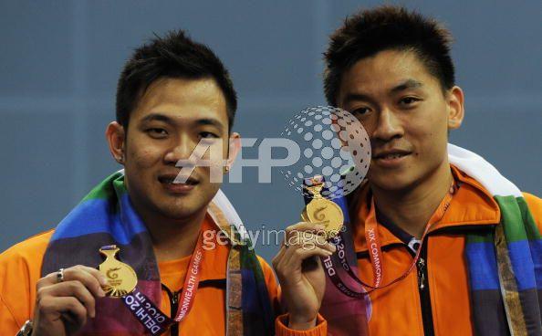 Koo ken kiat dan tan boon heong: emas dalam acara beregu lelaki