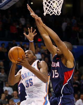 Thunder lets one get away against Atlanta