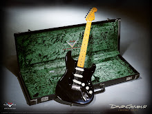 David Gilmour Guitar in case