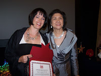 Receiving My CIP at the AICI Conference