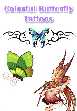 Butterfly tattoos are popular