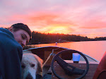 NOVEMBER SUNSET WITH JEFF AND JACK